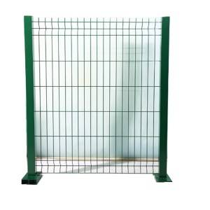 3D Fence Panel  with Green Pvc Coated