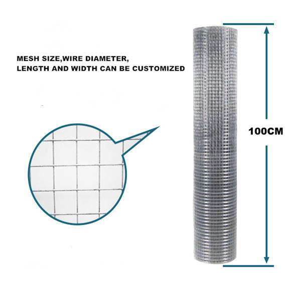 High Quality 10 Gauge Welded Wire Mesh Gi - Galvanized welded wire mesh – XINTELI