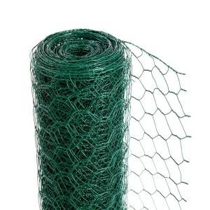 PVC Coated Hexagonal Iron Wire Netting