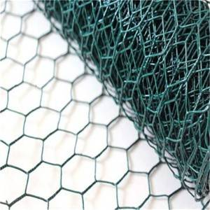 PVC Coated Galvanized Hexagonal Wire Netting Ch...