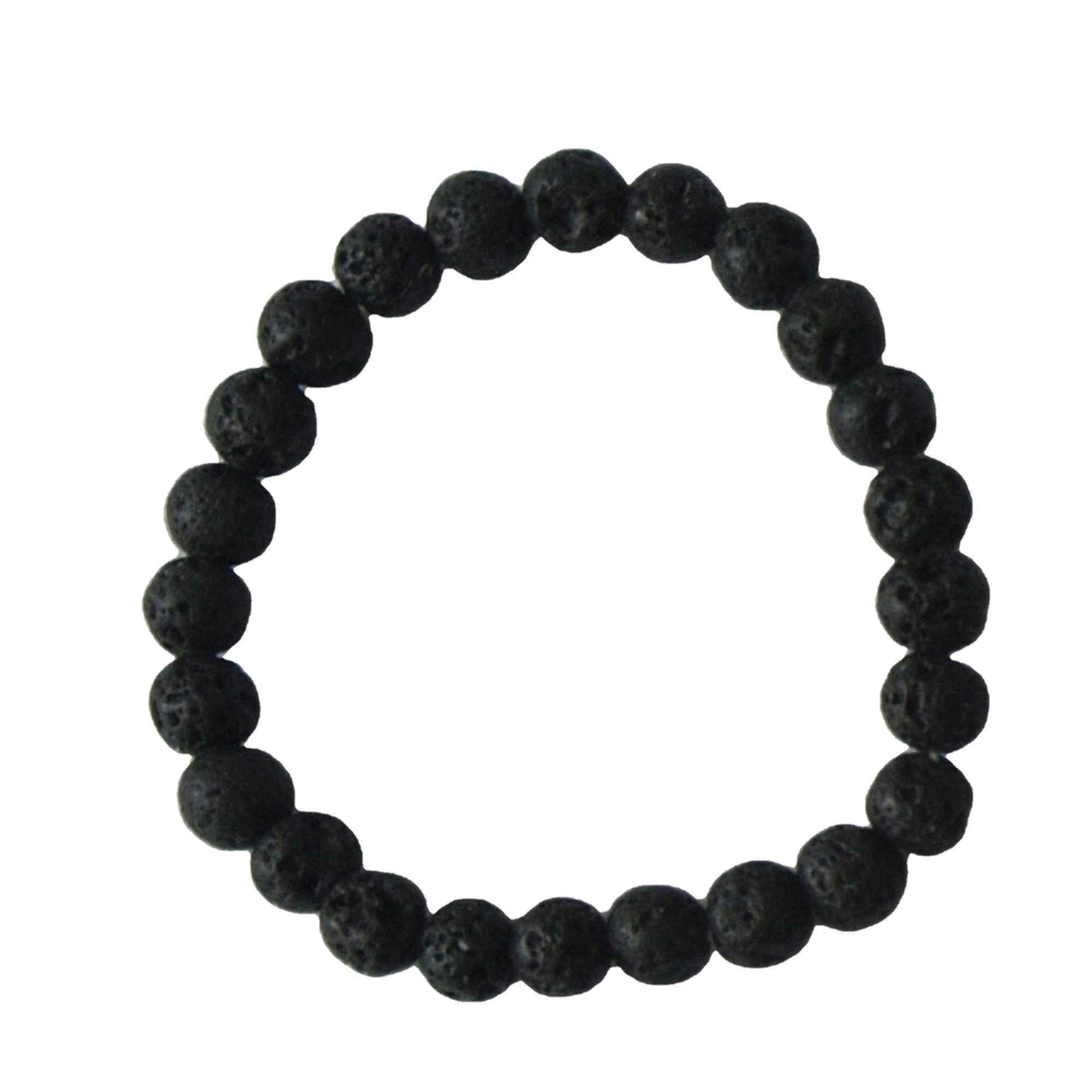 China wholesale Semi -Gem Tumbled Stone - lava bead bracelet lava stone bracelet – Harmony