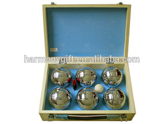 OEM Factory for Stone Paper Weight - boules of 6pcs/set in wooden box – Harmony