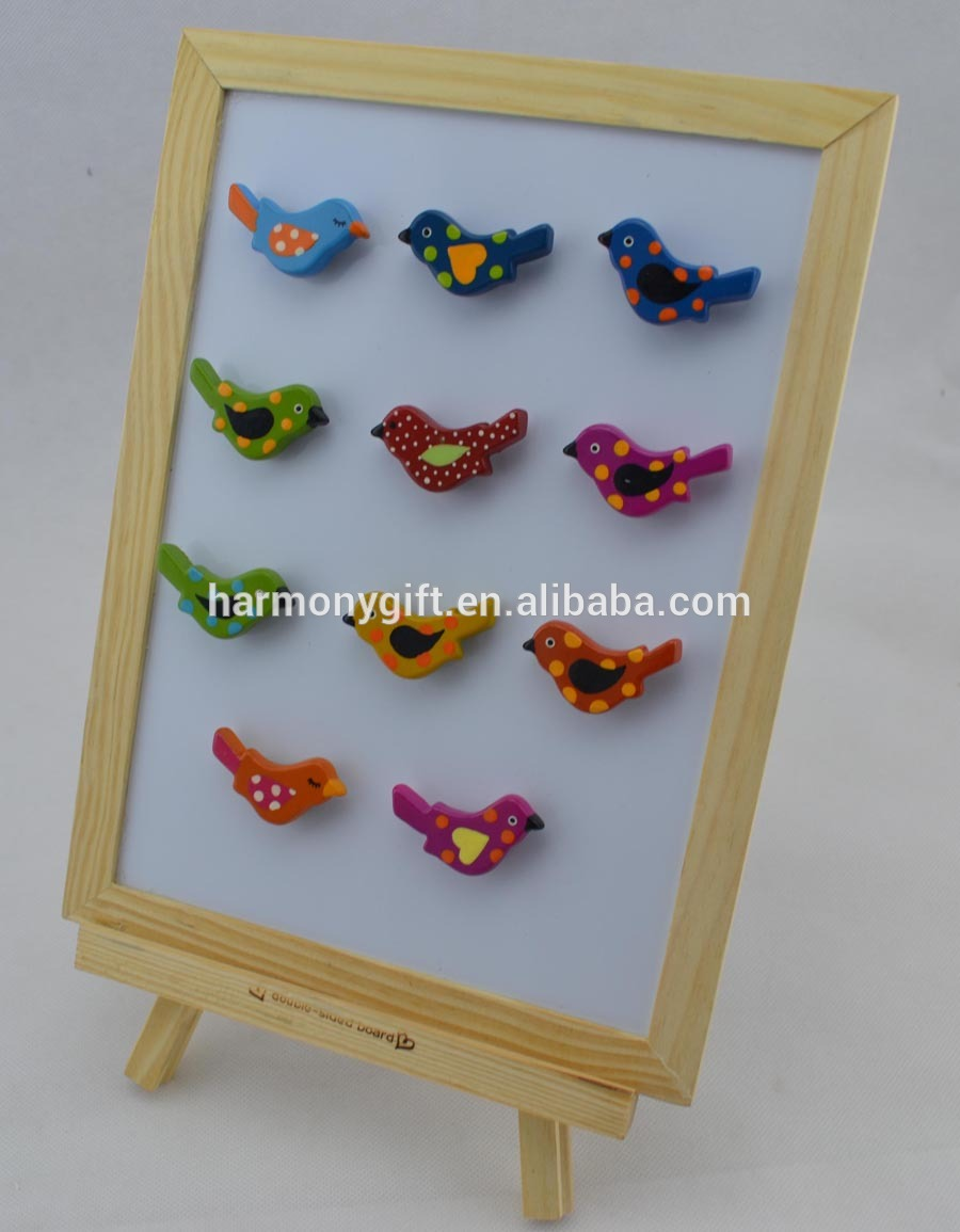 Hot-selling Personalized Stone Gifts - magnet with bird shape with handpainting – Harmony