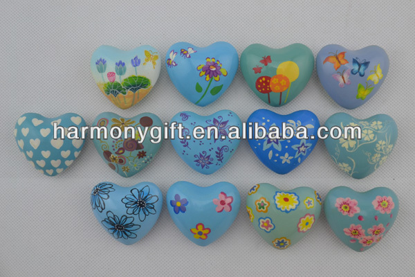 handpainted sound heart 4.5cm