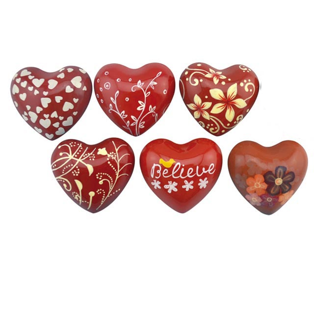 New Arrival China Handpainted Heart - metal heart with sound handpainted customized design – Harmony