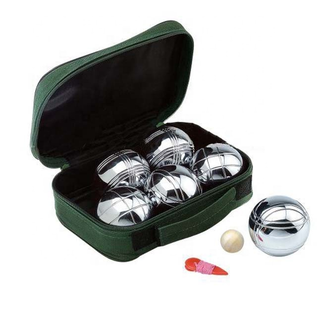 China wholesale Boules Sets - petanque ball boule set metal ball with nylon bag – Harmony