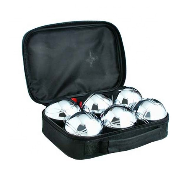 Factory Cheap Hot Kids Boules Set - petanque ball boule set metal ball with nylon bag – Harmony
