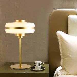 Modern Gold LED Desk Lamp HL60T04