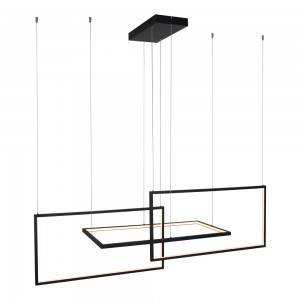 Newly Arrival Crystal Gold Chandelier - Rectangle LED Pendant Light – Haus Lighting