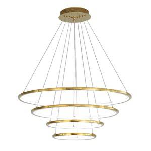 OEM/ODM Factory Brass Chandelierss - Modern Ring Pendant Light HL60L04-4 – Haus Lighting