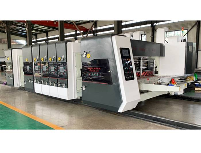 Wholesale Price Digital Flexo Printing Machine - Syk1224 4 Color Printing Slotting Die Cutting With Stacking Machine – Xinguang