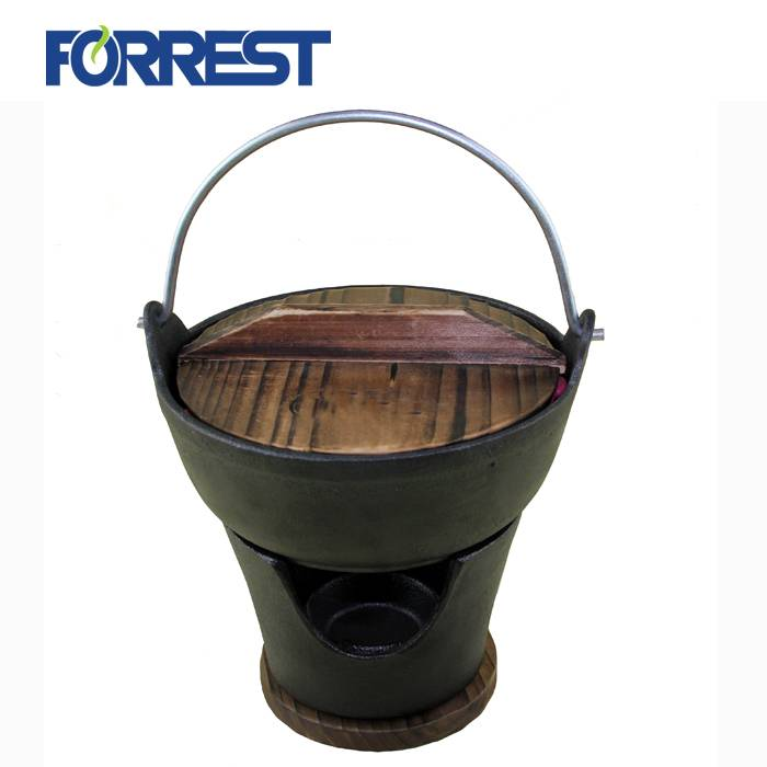 New Fashion Design for Cast Iron Sizzle Plate - Japanese pot, Cast Iron Fondue Set – Forrest Featured Image