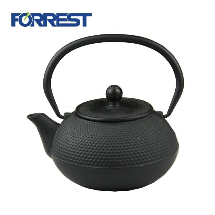 Factory source Cast Iron Skillet Handle Cover Light - 1.2L-N chinese cast iron water jug with removable tea filter – Forrest