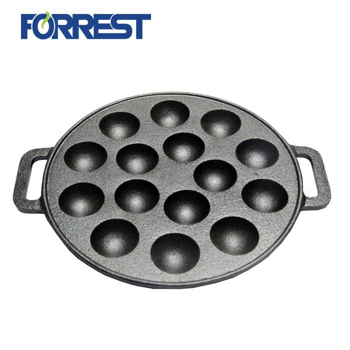 Fixed Competitive Price Enamel Cast Iron Cookware/ Casserole - Cast iron pizza pan non-stick cast iron pie cake pan mold cast iron cookware baking pan – Forrest