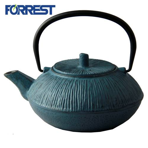 Ordinary Discount Cast Iron Hamburger Press - Japanese tetsubin cast iron kettle teapot for sale – Forrest