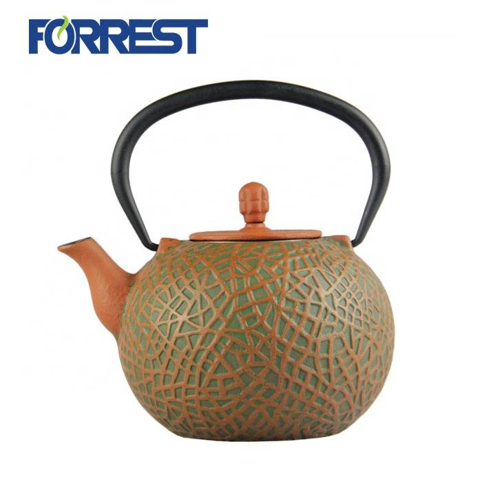 Hot Sale  enamel  tetsubin cast iron kettle teapot with S/S Infuser Featured Image