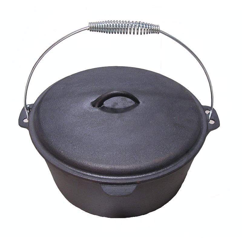 Best-Selling Cast Iron Frying Pizza Pan - three legged cast iron pots/ FDA/LFGB approved – Forrest