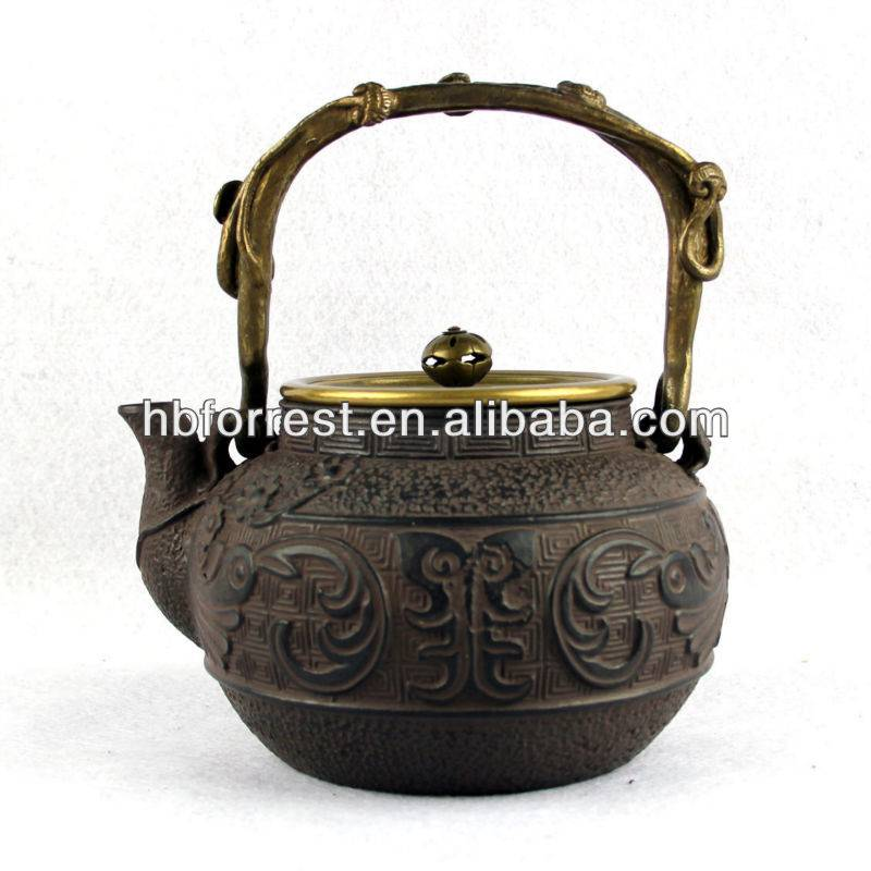 Well-designed Color Enamel Cast Iron Teapot And Cups - Chinese cast iron tea pot – Forrest