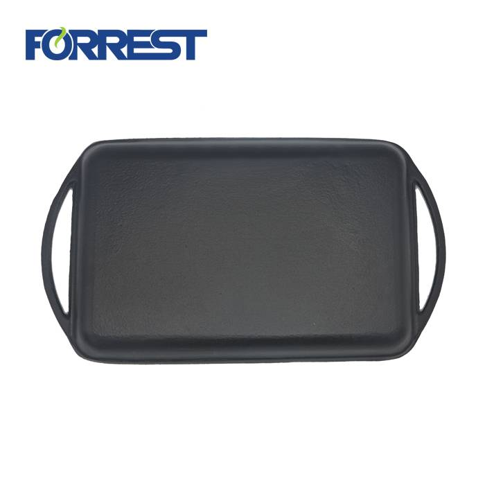 Rapid Delivery for Oval Casserole Set - Enameled Cast-Iron Rectangular Grill Pan – Forrest