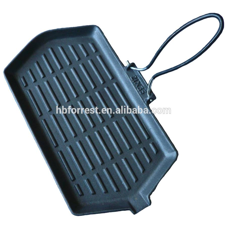 Hot sale grill with folding handle
