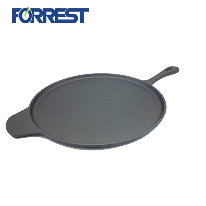 Manufacturer for Cast Iron Pre-Seasoned Skillet - Disa Diameter 30.5CM cast iron fry pan  Preseasoned cast iron cookware FDA Approved Non-stick – Forrest
