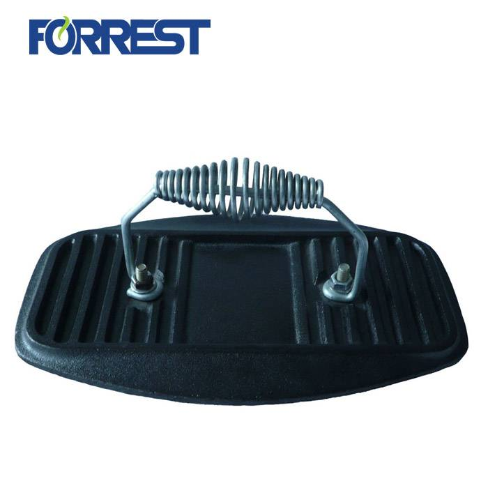 Best quality Cast Iron Barbecue - cast iron flat grill press tortilla press cookware grill press – Forrest