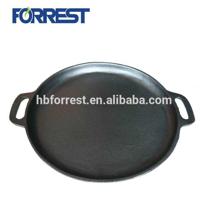 OEM Customized Cast Iron Cookware Skillet Set - Cast Iron Tortilla pan – Forrest