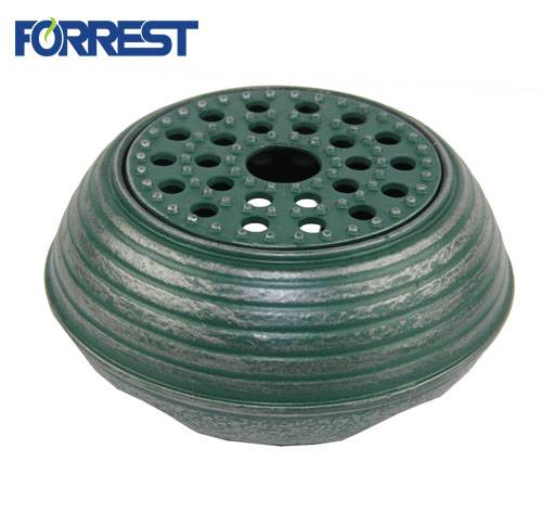 OEM Customized Cast Iron Preseasoned Teapot - Portable cast iron teapot stove in green – Forrest