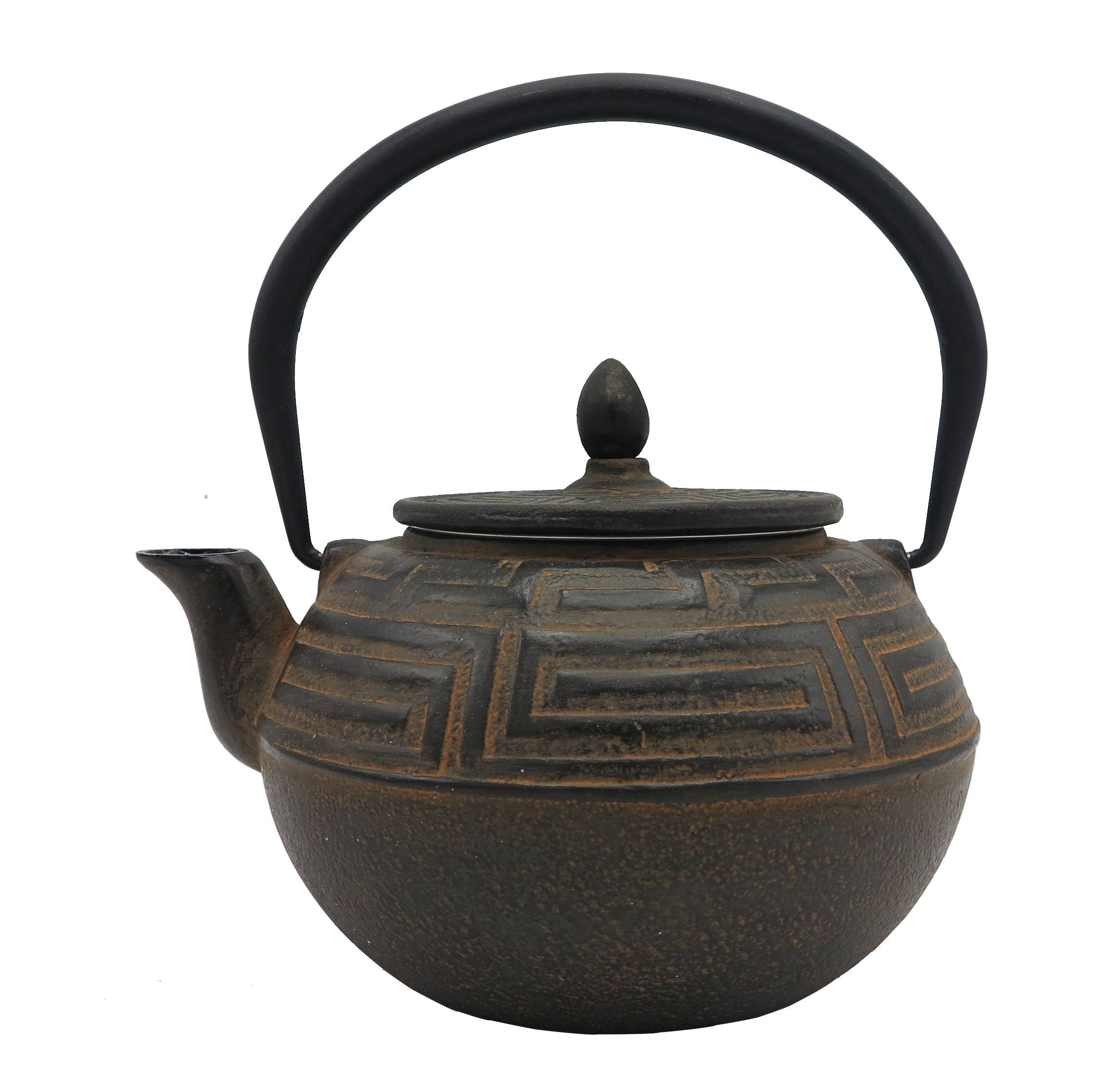 Factory directly Mini Teapots - 1.2L 1.75kg best wholesale Eurofins  approved customized color enamel  tetsubin cast iron kettle  teapot antiqu style – Forrest