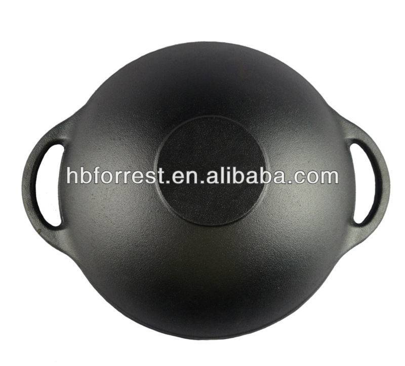 Hot Sale for Round Cast Iron - Vegetable Oil Enameled Cast Iron pan – Forrest