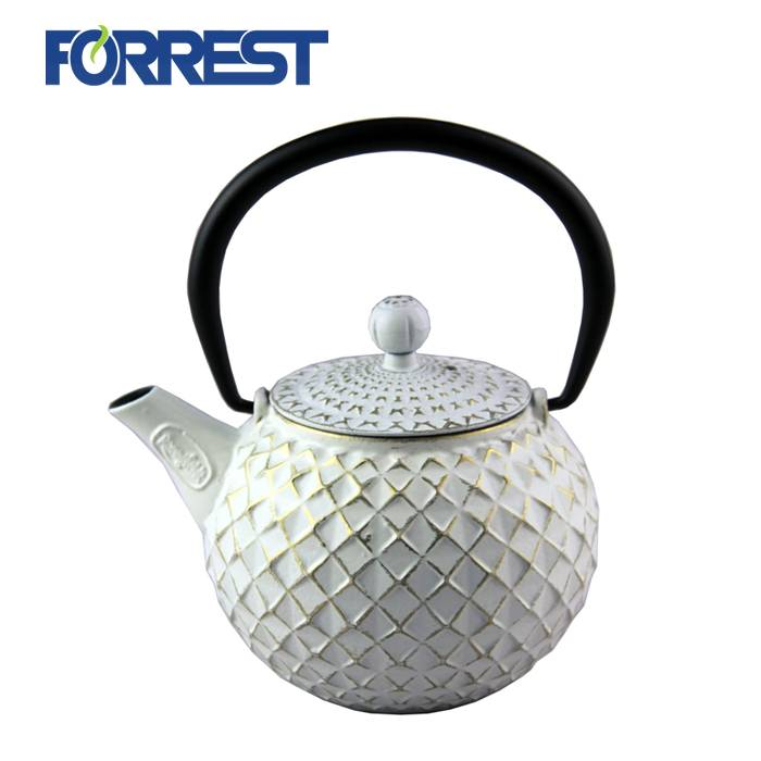 Discount Price Teapot And Cups - New design enamel Chinese Tea Kettle Drinkware Cast Iron Teapot – Forrest