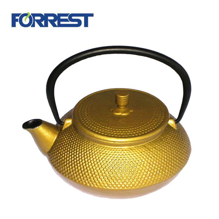 2018 High quality Vintage Cast Iron Teapot - Hot Sale Cast Iron Tea set Drinkware Teapot Japanese Kettle for Tableware – Forrest