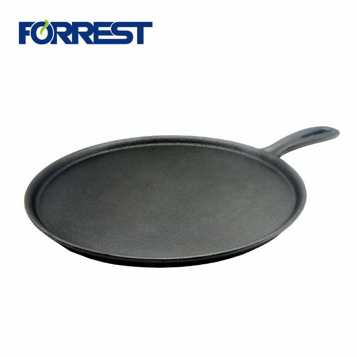 Pre-Seasoned Cast Iron Skillet For Stovetop Oven Use & Outdoor Camping Non-Stick 12 inch Frying Pan