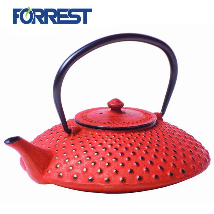 Manufacturer of Mini Cast Iron - LFGB approved enamel tetsubin cast iron kettle teapot with S/S Infuser – Forrest