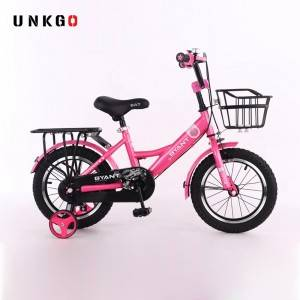 Unkgo Bicycle Children Cartoon Child Bicycle With Box 12 14 16 18 From hebei Factory kids bike for 4-10 year old