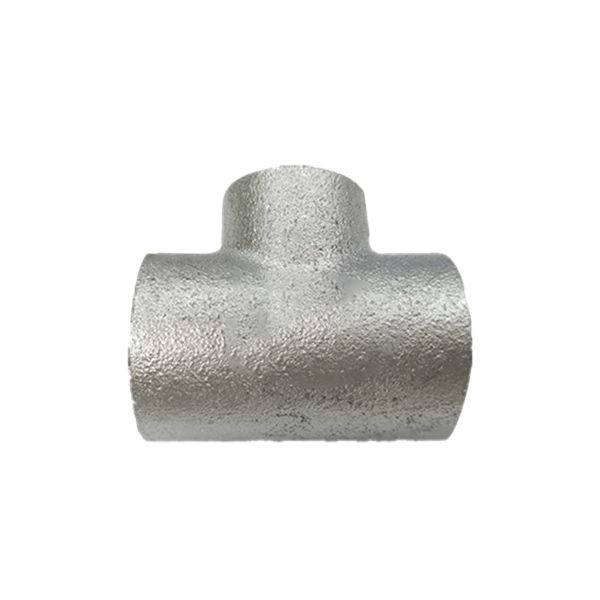 2020 China New Design Banded Type Malleable Fittings - Plain type High quality Galvanized Malleable Iron Pipe Fitting from China – Kingmetal