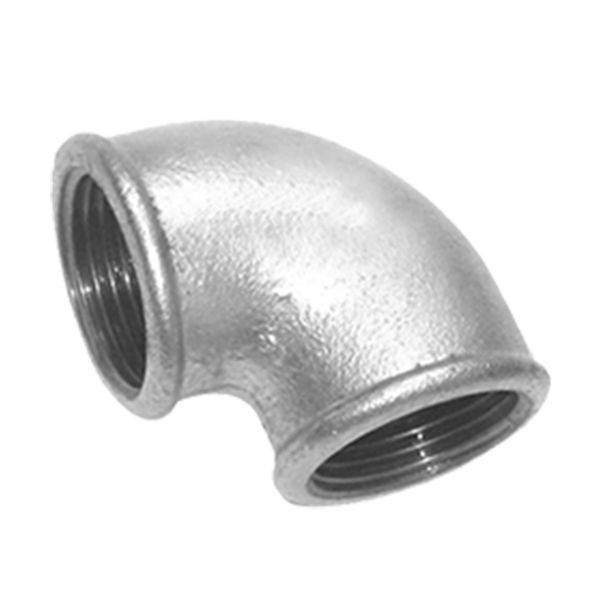 OEM/ODM China Gi Fittings - Hot dipped galvanized Malleable Iron Pipe Fitting manufacturing beaded – Kingmetal
