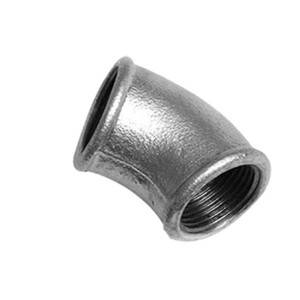 Hot dipped galvanized Malleable Iron Pipe Fitting manufacturing beaded