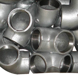 Plain Malleable Iron Pipe Fitting