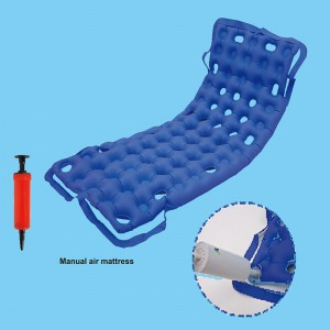 Manual air mattress