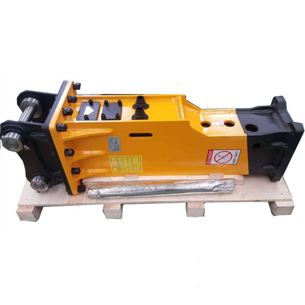 factory low price Excavator Attachment - CE Approved Volvo Furukawa HB20G Box-silenced TYPE Excavator Attachment  Hydraulic Demolition Breaker Hammer – Monteono
