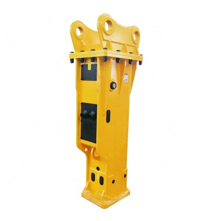 Factory wholesale Soosan Hydraulic Breaker Piston - Durable Soosan Sb81 Rock Hydraulic Breaker with Chisel – Monteono detail pictures