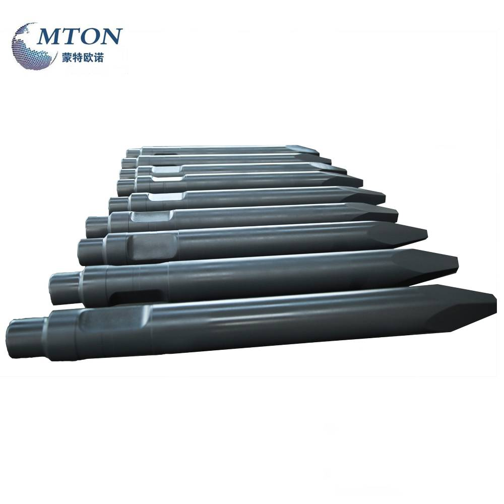 Hot Selling for Hydraulic Breaker Flat Chisel - Hm900 Hydraulic Breaker Chisel V-Wedge Type – Monteono