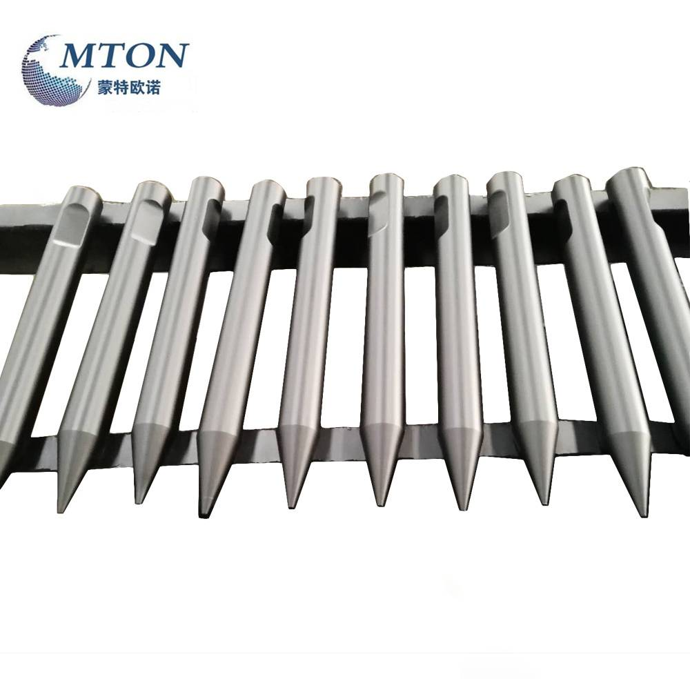 Hot New Products Superior Hydraulic Breaker Hammer Chisel Spare Parts Accessory Wedge Moil Cone Type And So On From China - FURUKAWA HB20G Hydraulic Breaker Spare Parts Wedge Chisels – Monteono Featured Image