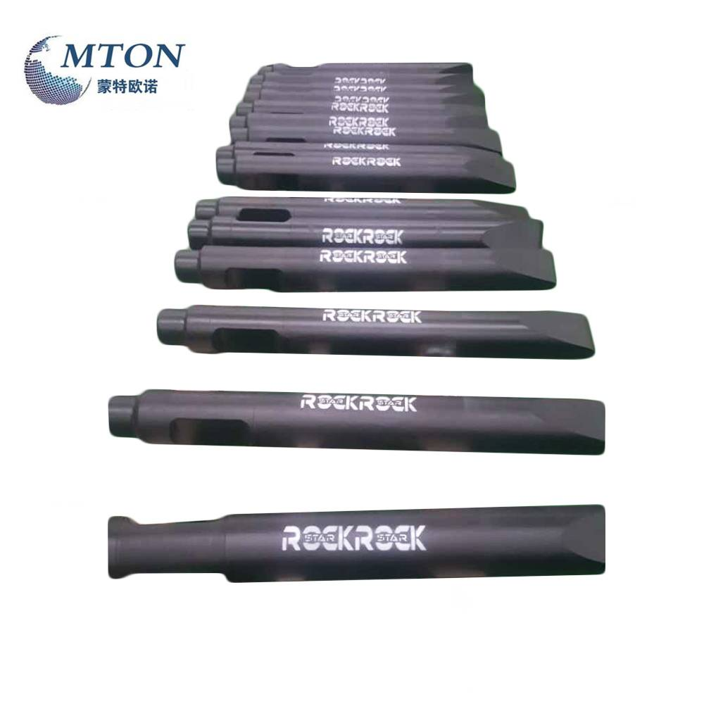 MS550 Hydraulic Hammer Chisel tools With Flat Type