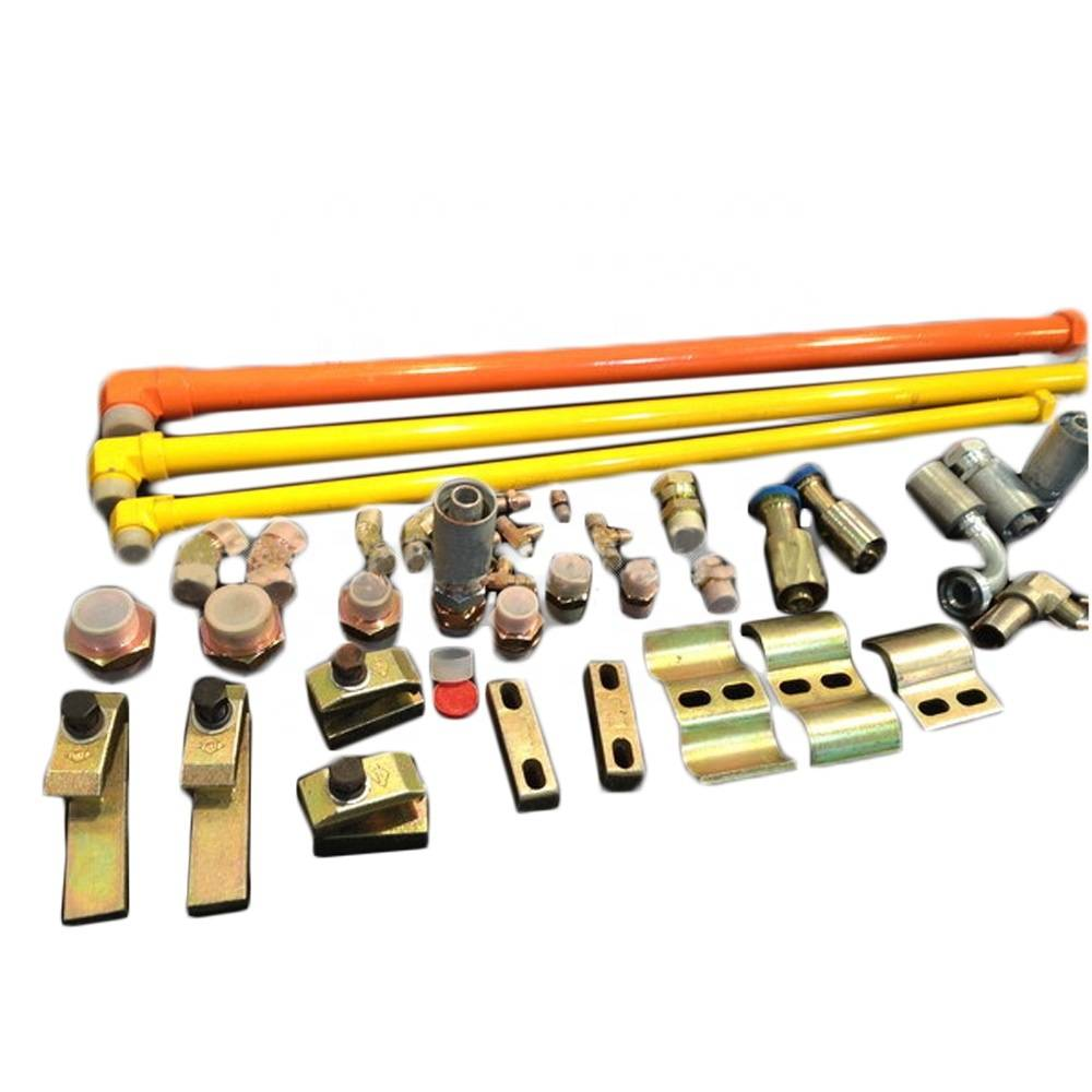 Excavator Boom Arm Attachment Breaker Pipes Hydraulic Oil Hose Piping Pipe Line Hammer Installation Kit Pipings