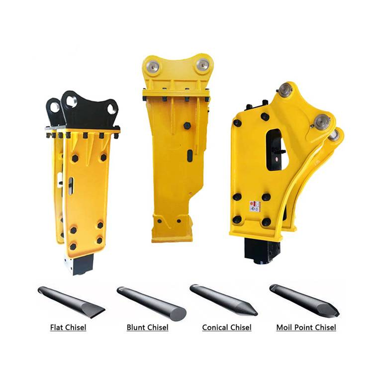Hot Sale for Skid Loader Hydraulic Breaker - Side type breaker FURUKAWA hydraulic breaker hammer model HB20G – Monteono