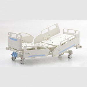 18 Years Factory Medical Bed Hospital Bed Four Sections - Three crank Manual Bed – Pukang