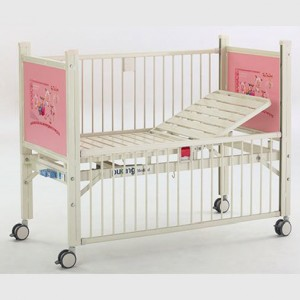 Rapid Delivery for Hospital Labourl Bed - Epoxy coated Semi-fowler child  bed B-35-2 – Pukang