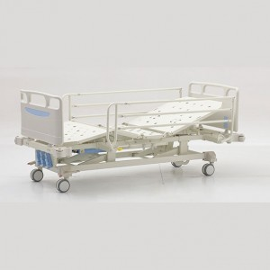 High reputation Medical Hospital Bed - Three crank Manual Bed – Pukang